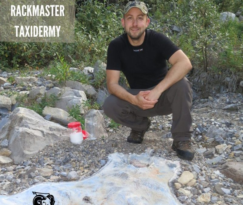 Ep 33 – Talking Taxidermy with the Rackmaster – Trevor Carruthers